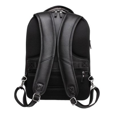 Мужской рюкзак из натуральной кожи Kelross Black