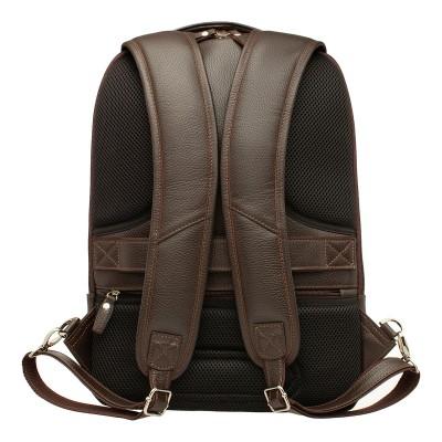 Кожаный рюкзак мужской Kelross Brown
