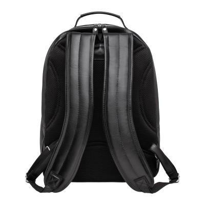 Мужской рюкзак из натуральной кожи Kempis Black