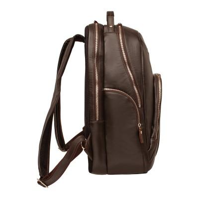Кожаный рюкзак мужской Kempis Brown