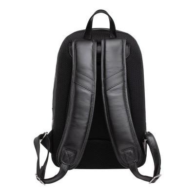 Мужской рюкзак из натуральной кожи Linford Black