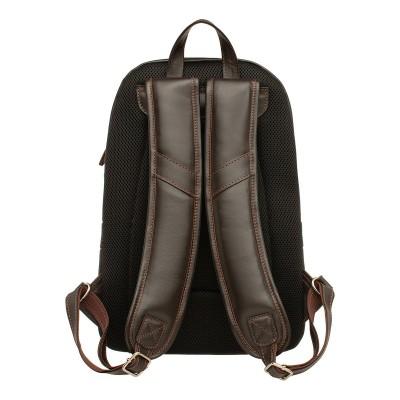 Кожаный рюкзак мужской Linford Brown