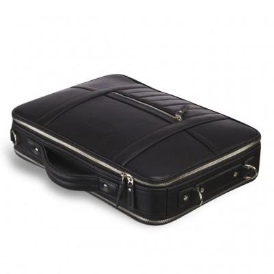 Мужской кожаный рюкзак-трансформер BRIALDI Bering (Беринг) relief black