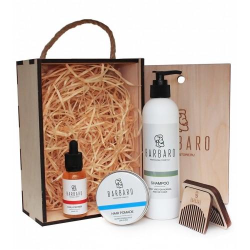 Barbaro Beard Set - Набор настоящего бородача