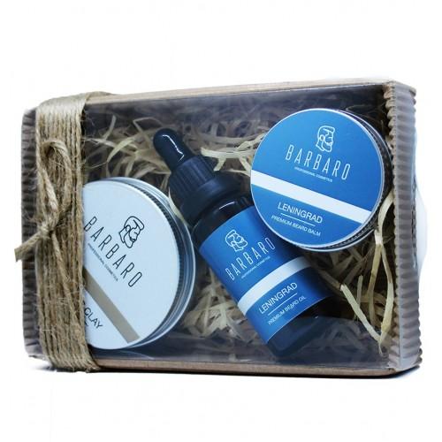 Barbaro Premium Set - Премиальный набор для укладки и ухода за бородой