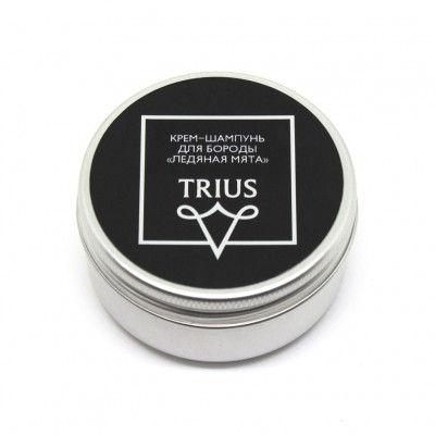 Trius - Крем-шампунь для бороды Ледяная мята 50 мл