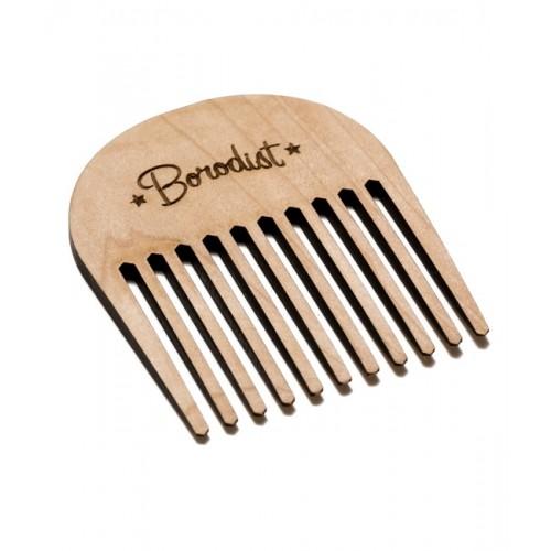 Borodist Wooden Comb - Гребень для усов и бороды
