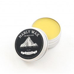 Manly Wax Original - Воск для усов, какао-корица 15 гр