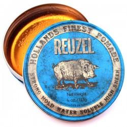 Reuzel Strong Hold High Sheen Pomade - Помада для укладки волос сильной фиксации с эффектом блеска 113 гр