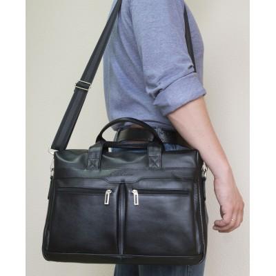 Мужская сумка Lugano brown (арт. 1007-21)