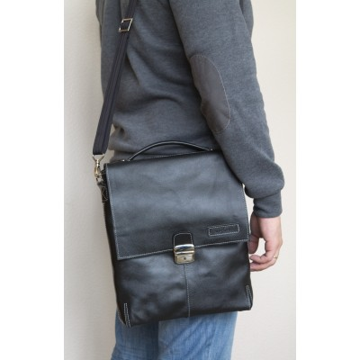 Кожаный мужской планшет Cavazzo brown (арт. 5004-04)