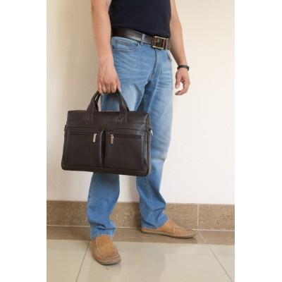 Мужская сумка Lugano brown (арт. 1007-94)